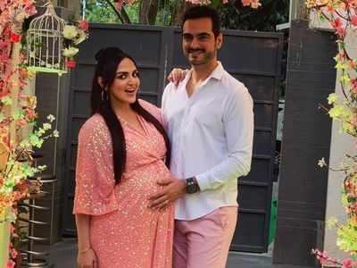 Esha Deol Takhtani welcomes baby girl Miraya home