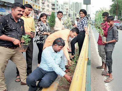 Green punishment in concrete jungle