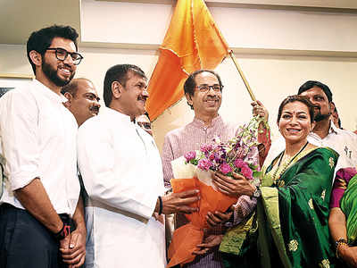 NCP city chief Sachin Ahir defects to Shiv Sena