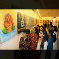 Many moods of Ganapati at this exhibition by fine arts students