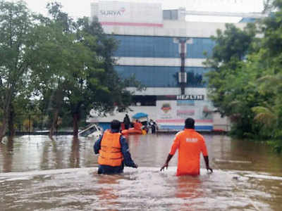 Patients shifted out as hospitals face flooding