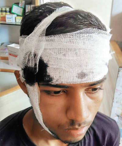 Student beaten up for his cap