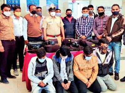 Jobless in Covid times, 4 youths take to crime