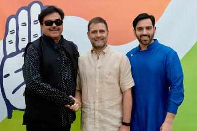 Shatrughan Sinha meets Congress chief Rahul Gandhi, to join Congress on April 6