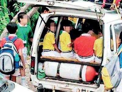 Andheri RTO seeks schools' help to tackle illegal vans