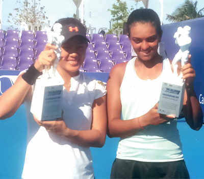 Zeel wins another ITF doubles title
