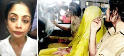 Indrani ODs on sedatives, taken to JJ; is critical