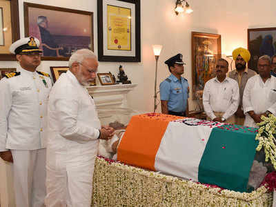 Live: Govt announces seven-day mourning as a mark of respect to former PM Vajpayee