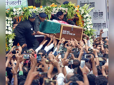 Major Kaustubh Rane laid to rest in Mumbai