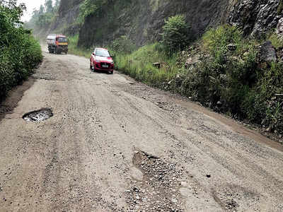 Another shot at Bengaluru-Mangaluru road work