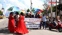 LGBT Rainbow pride march in Coimbatore