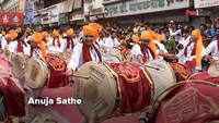 Dhol - Taasha and a fitting farewell for Ganpati Bappa by Marathi Celebs in Pune