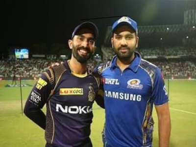 'Thanks for that last ball six': Rohit Sharma on Dinesh Karthik's birthday
