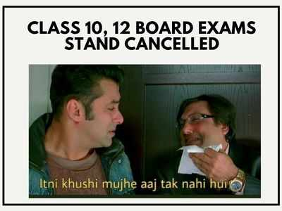Twitter has a meme fest after Class 10, 12 CBSE exams get cancelled