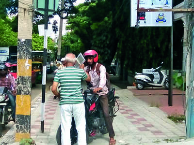 Meet the senior citizens on footpath watch
