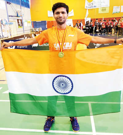 Sukant bags his career's second gold medal