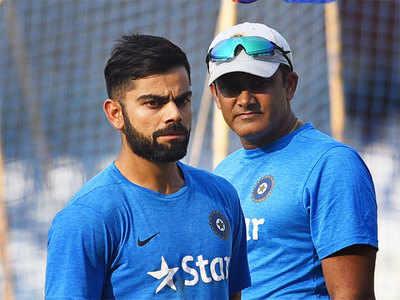 India v Australia: Anil Kumble won't ask Virat Kohli and Co to curb aggression