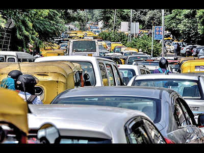 In the face of a no-honking policy gathering steam in the city, can you resist it on congested roads?