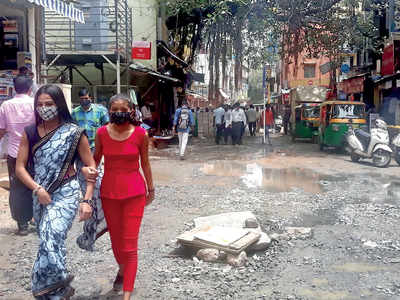 Businesses run dry with delay in smart city work