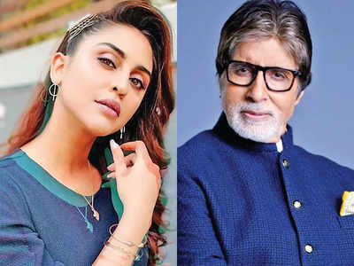 Big B soothes newbie's nerves