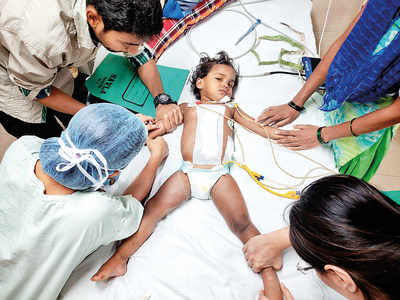 Sion doctors bring 2-year-old back from the brink