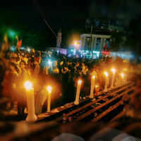 Indoreans hold candle light march to protest against Pulwama attack