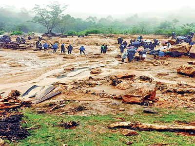 15 dead, over 50 missing as rains trigger landslide near Munnar