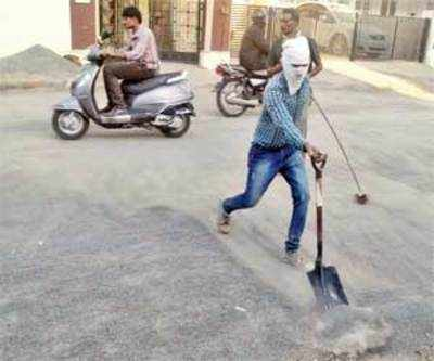 Dust takes the 'breath away' of Paldi residents