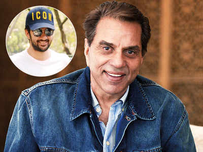 Veteran actor Dharmendra takes no chances with grandson Karan Deol's Bollywood debut