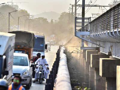 Sangam Bridge work kicks up a dust storm