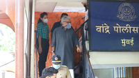 Sanjay Leela Bhansali arrives at Bandra police station to record his statement