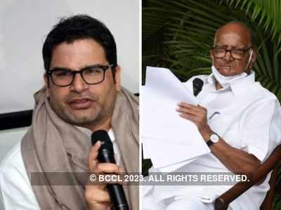 Ripples in Maharashtra as poll strategist  Prashant Kishor meets Sharad Pawar