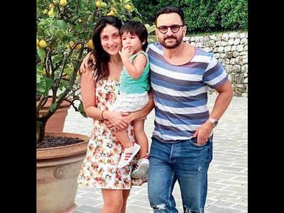 Photos: Saif Ali Khan is on a vacation with Kareena Kapoor and Taimur