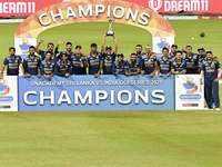 3rd ODI: Sri Lanka avoid whitewash against India