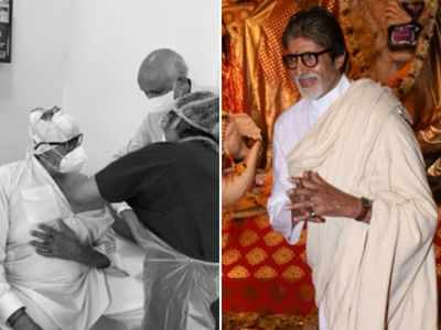 Amitabh Bachchan calls experience of getting vaccination as 'historic'