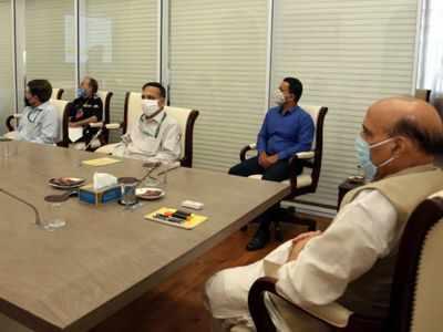 Rajnath Singh reviews infra requirements at borders