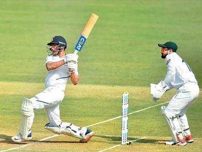 India vs Bangladesh 1st Test: Mayank Agarwal's double century puts India ahead