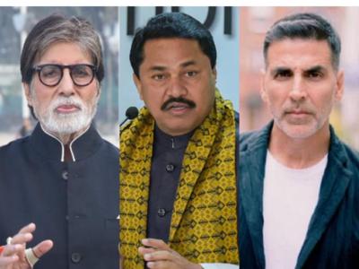 Why Akshay Kumar, Amitabh Bachchan silent about fuel prices?': Maharashtra Congress chief Nana Patole