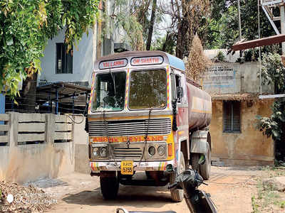 Tankers dumping chemicals seized