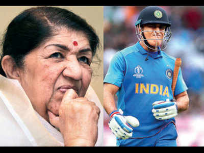 Lata Mangeshkar requests Dhoni to not retire