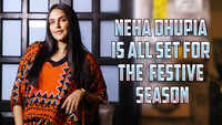 Neha Dhupia is all set for the festive season