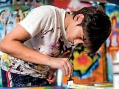 Real estate mogul Vikas Oberoi's son Vihaan sells his paintings to raise money for COVID-19 relief fund