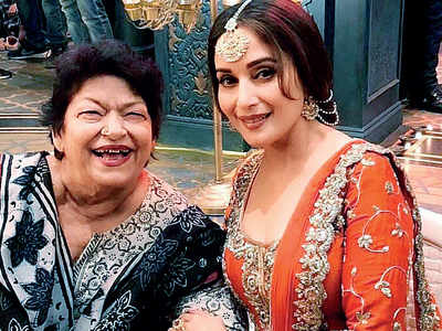 Saroj Khan: I'd lost interest but now want to do something good for the industry