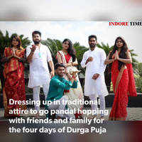 The joy of Pujo