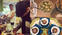 Akshay Kumar and Twinkle Khanna's son Aarav is a chef in making and these pictures are proof!