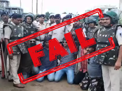 Fake alert: Mock drill video from Madhya Pradesh shared claiming terrorists captured