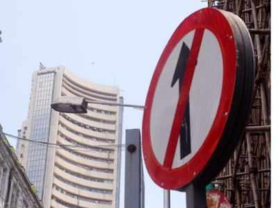 Sensex, Nifty in the red on Monday