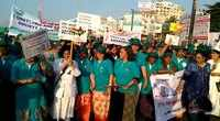 Visakhapatnam: Awareness walk on cervical cancer held at Beach Road