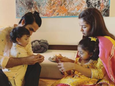 Photos: Here's how Taimur Ali Khan, Misha Kapoor and other Bollywood star kids celebrated Raksha Bandhan