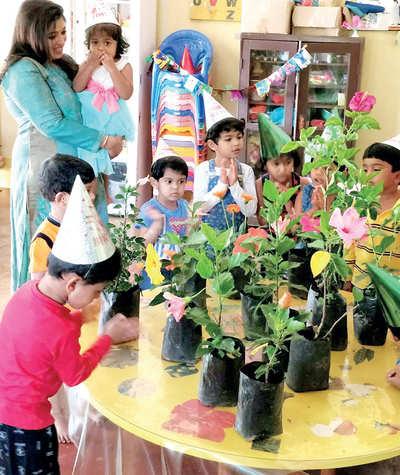 Karnataka: Flowers for her birthday
